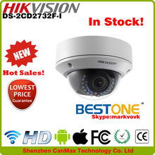 DS-2CD2732F-I 3.0MP day night version wireless IP66 indoor and outdoor waterproof PoE H.264 good brand Hikvision IP Camera