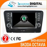 SKODA Octavia audio with gps dvd