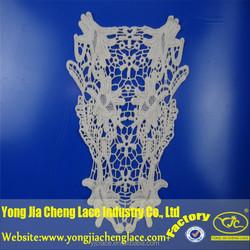 Flower lace design collar neck designs of kurtis