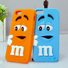 2014 High Quality Silicone Decorative Cell Phone Cases for Iphone 5