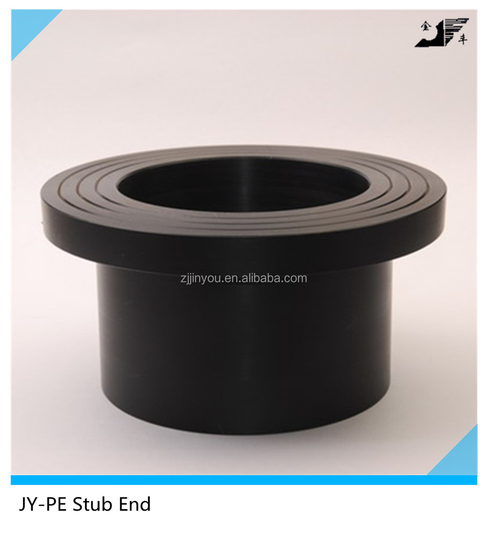 Butt fusion type fitting molded stub end buy pipe