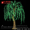 High artificial outdoor led weeping willow tree light