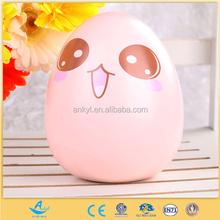 Cartoon Egg piggy Bank Plastic OEM Toy Money Box