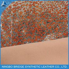 1412005-5355-2-2 Ningbo Bridge Free Sample AvailableFoiled PU For Sofa