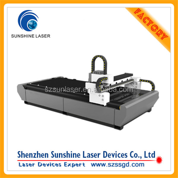 High Speed 1000 Watt Fiber Laser Cut Machine For Sale