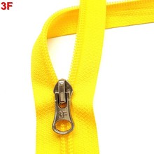 #5 two way open separating nylon y tape zipper with autolock slider FX1368