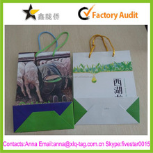 2015 New design factory price accept color print foldable shopping bag