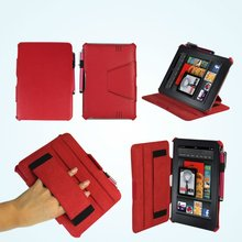 Folio PU leather Case for Kindle Fire HD 7 Inch Tablet Cover/for Amazon Kindle fire 2 cover
