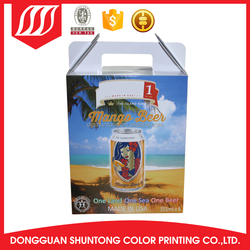 paper hair extension packaging OEM packaging false eyelash packaging box