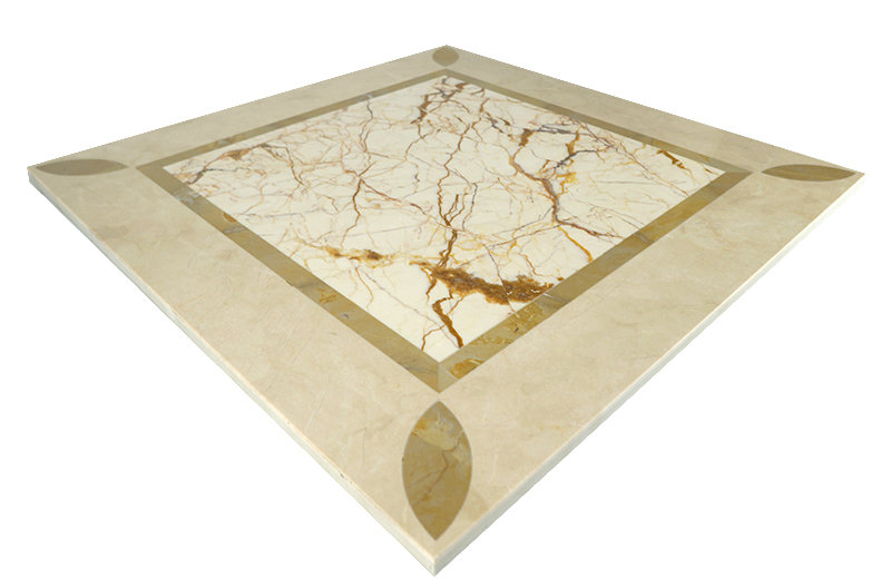 MPC21G66 Moreroom Stone Waterjet Artistic Inset Marble Panel-3.jpg
