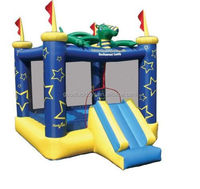 2015 new design inflatable dragon slide /inflatable toys for kids outdoor playground happy hop