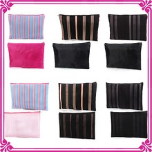 Professional manufacturer custom fabric cosmetic pouch bag