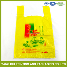 Good quality Colorful printed cheap t-shirt packaging plastic bag