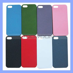 Colorful Matte PC Hard Case for iPhone 5