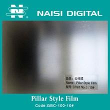 Pillar style Photo cold lamination film