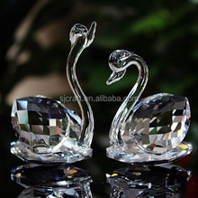 Wedding Gift / Factory Price Crystal Glass Swan Wholesale