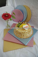 The Wedding Cake Board/Drum foil coated