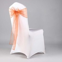 wholesale organza chair sash