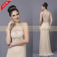 CY50562 New Long Jersey Middle Aged Women New Fashion Ladies Dress