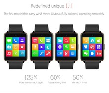 2015 Newest waterproof Android smart watch / Bluetooth Smartwatch / Smart Bluetooth Watch with changeable