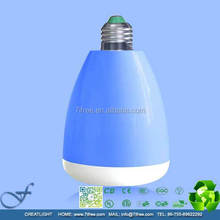 Music player and daylight combination led bulb bluetooth speaker with CE and FCC certification