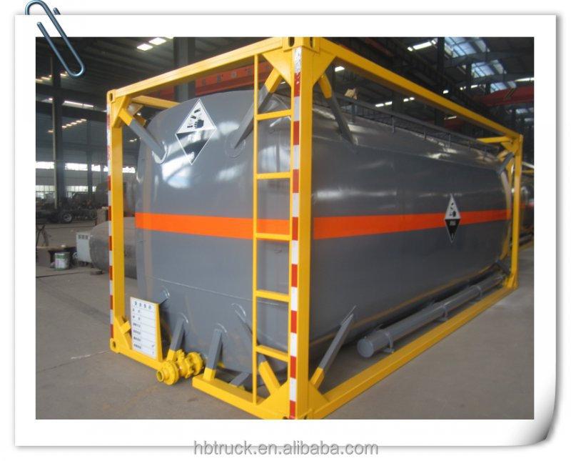 Chengli специальные автомобильные производить новые 20 футов/40 футов iso стали топливного бака контейнер