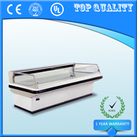 Front Window Saving Energy Display Cabinet,Commercial Supermarket Refrigerator