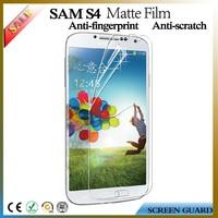 Anti glare matte screen protector/film/cover for Samsung galaxy S4