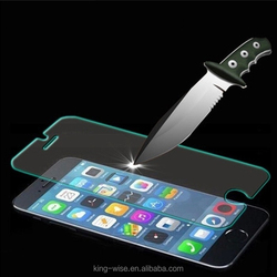 Factory price mobile phone Tempered Glass Screen protector/film for iphone 6/6 plus