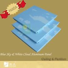 Blue Sky White Cloud Aluminum Metal Ceiling