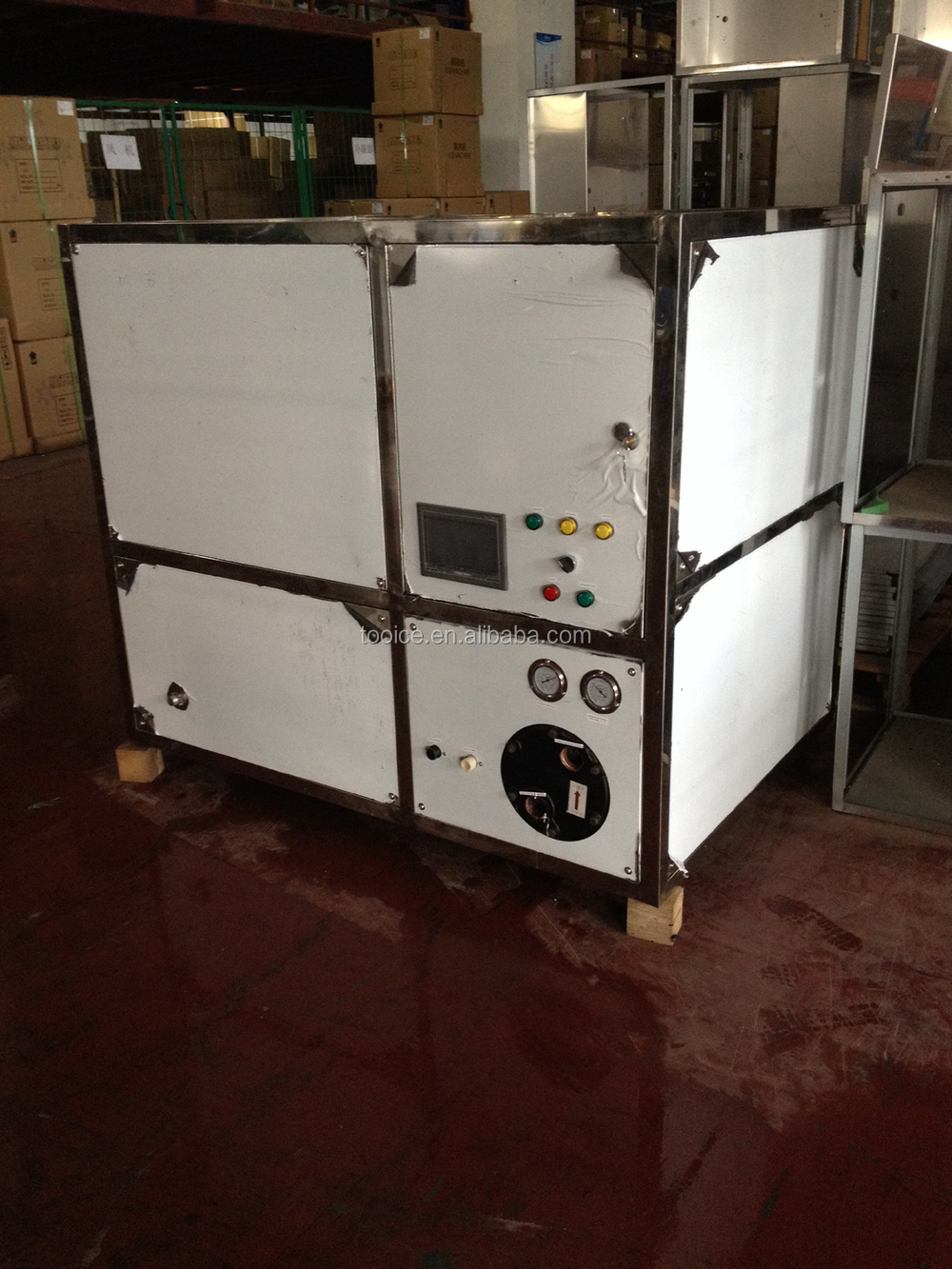 1 Ton 100 Capacity With Touch Screen Industrial Ice