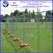Australia temporary fence which can defend acid rain/Temporary metal fence