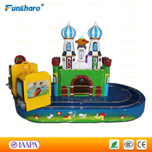 Funshare kiddie amusement rides train kids electric amusement park train rides for sale