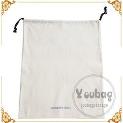 customlized canvas cotton Drawstring bag