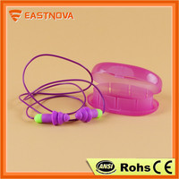 EASTNOVA ES313C anti noise disposable soundproof silicone ear plugs