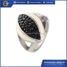 CCR1311 Wholesale Alloy with CZ rings jewellery super bowl rings