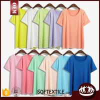 soft fashionable www sex women com brazil summer pleated t-shirts