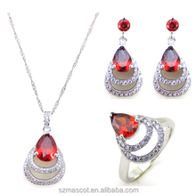 China Wholesale Copper Metal Jewelry Set In Latest Design Fashion Costume Jewelry Set