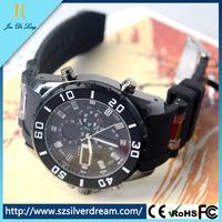 Fashion Army Style Silicone Outdoor Men Sport Usb Bracelet Watch