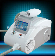 Portable Q-switched nd yag laser tattoo removal/ age spot removal equipment