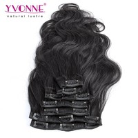 2015 Fashion indian remy clip in hair extension