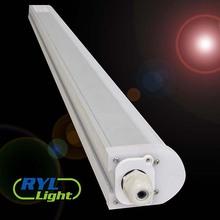 led listón accesorio de iluminación smd suspendida la línea de montaje de la lámpara