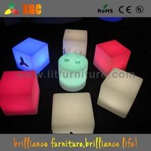 40*40*40cm LED cubes,LED cube light furniture, light led cubes table