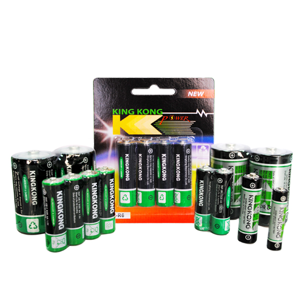 High quality dry battery , R14P 1.5v alkaline dry battery for wholesale
