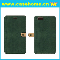 Green Color Leather Case for Redmi Note 2 Flip Leather Case for Xiaomi Redmi Note 2