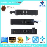iPush RK3188 Quad Core android IPTV box indian channels chromecast wholesale smart tv set top box