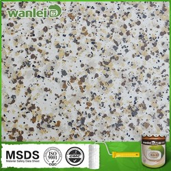 environmental natural granite acrylic waterproof paint artistic modern paints