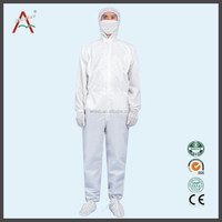 esd lab coats, antistatic clothes, cleanroom suit