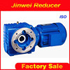 S series helical worm gear reducer with electric motor with good service