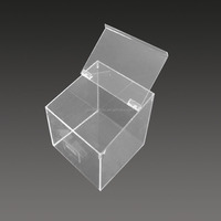 Transparent acrylic clear see through gift boxes